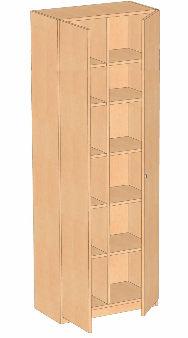 schrank 2 t rig mit mittelwand 2 6 oh haftmann onlineshop. Black Bedroom Furniture Sets. Home Design Ideas
