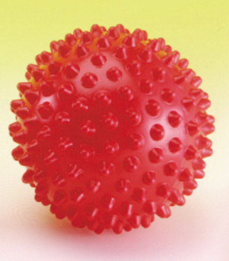 Massageball 15 cm rot
