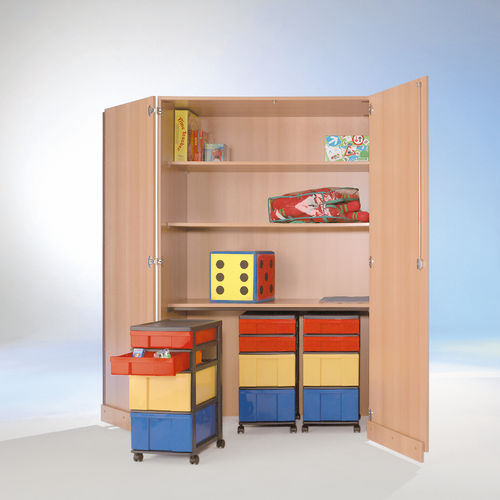 InBox Garagenschrank, 3 Container M/L, Multicolor