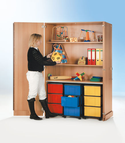 InBox Garagenschrank, 3 Container L, Multicolor